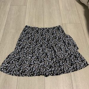 Dynamite Ruffle Mini Skirt
